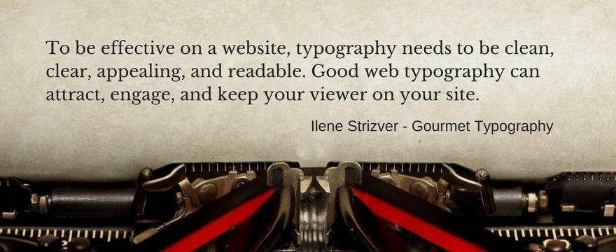Website Fonts